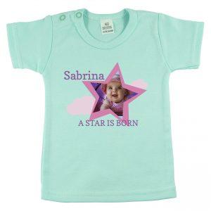 Shirt met naam en foto