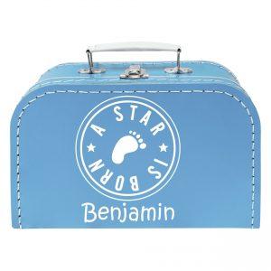 koffertje met naam, tas met naam