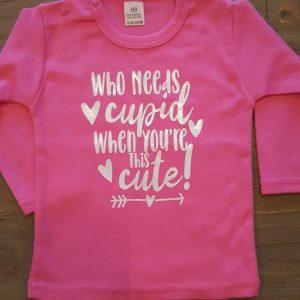 Shirt valentijnsdag kind