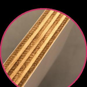 zijkant fotoblok dikte hout