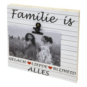 Fotoblok familie