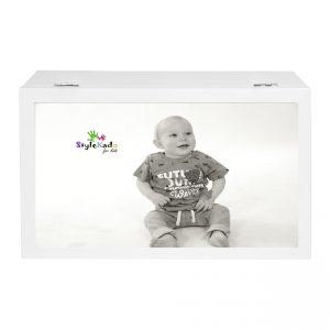 Bewaardoos baby met foto